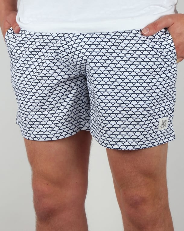 Supremacy Reef Tailored Swim Shorts White