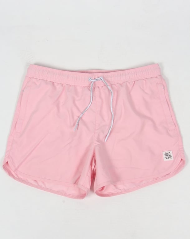Supremacy Rocket Swim Shorts Pink