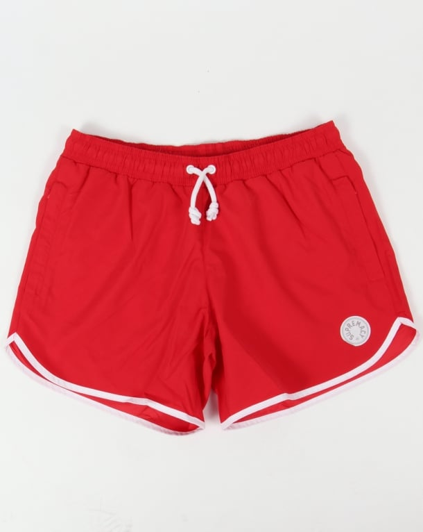 Supremacy Winner Swim Shorts Red