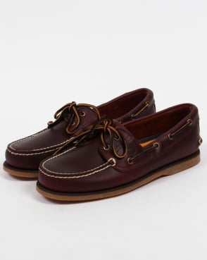Timberland 2-eye Classic Boat Shoes Rootbeer