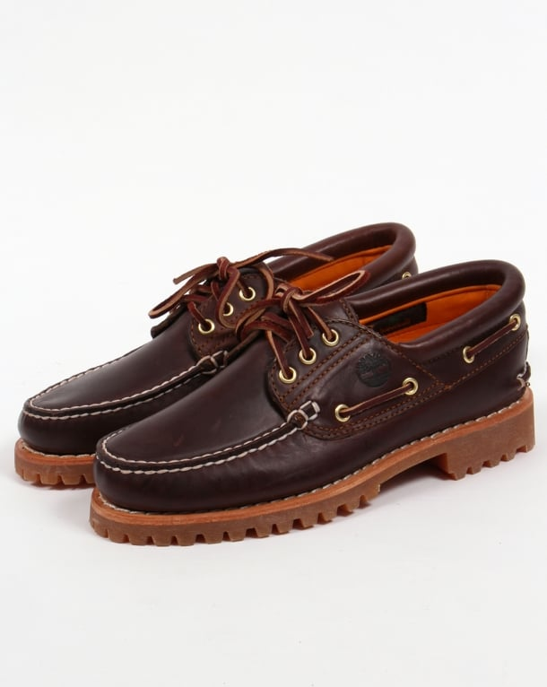 Timberland 3-Eye Classic Lug Shoes Brown