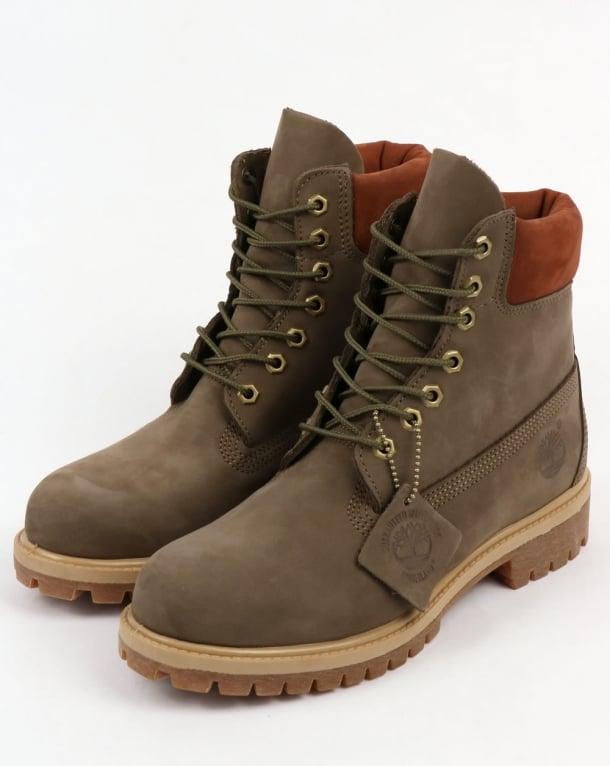 Timberland 6 Inch Premium Boots Grey