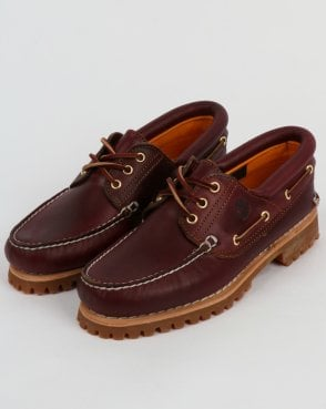 Timberland Authentics 3 Eye Classic Burgundy Shoes