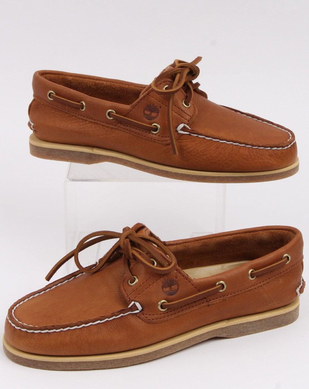 Timberland Classic Boat 2 Eye Shoe Tan