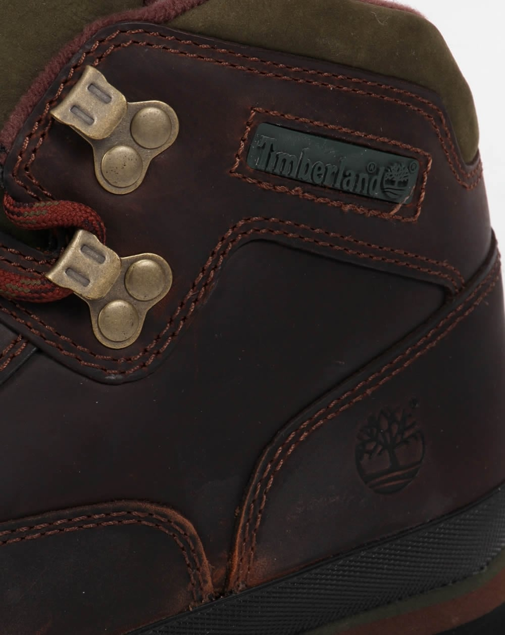 99e2d143a4d Timberland Euro Leather Hiker Boots Brown Smooth