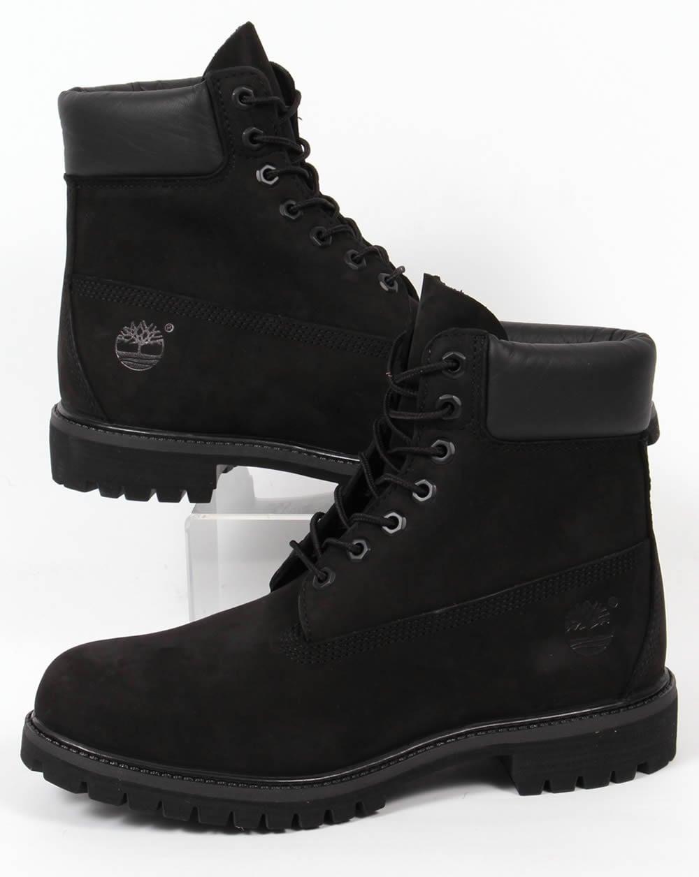 Timberland Timberland Icon 6 Inch Premium Boots Black Nubuck d00e74e22a02