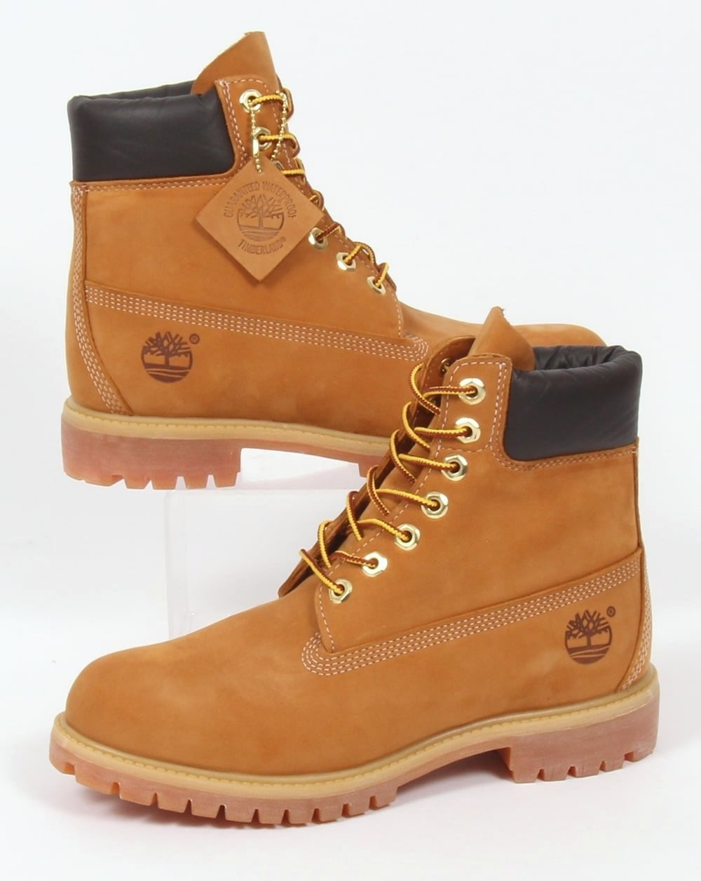 Wheat Nubuck Timberlands