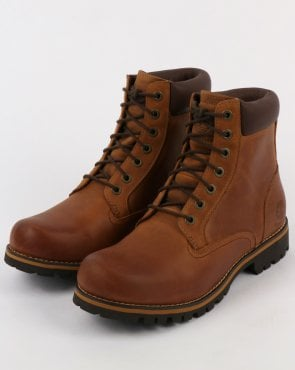 Timberland Rugged 6 Inch Plain Toe Copper Roughcut