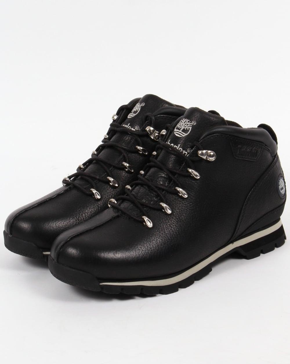 timberland splitrock hiker boots black pro shoes. Black Bedroom Furniture Sets. Home Design Ideas