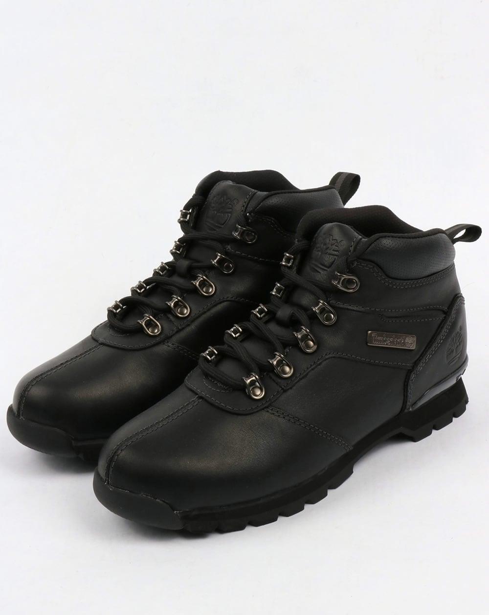 Timberland Splitrock Ii Boots Black 2 Pro Shoes Hiker Mens