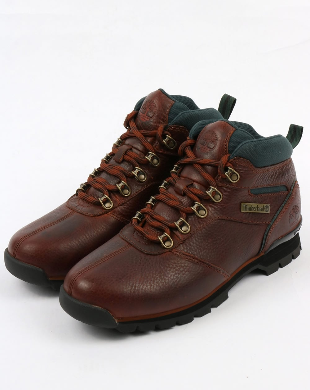 Timberland Splitrock Ii Boots Brown Green 2 Pro Shoes