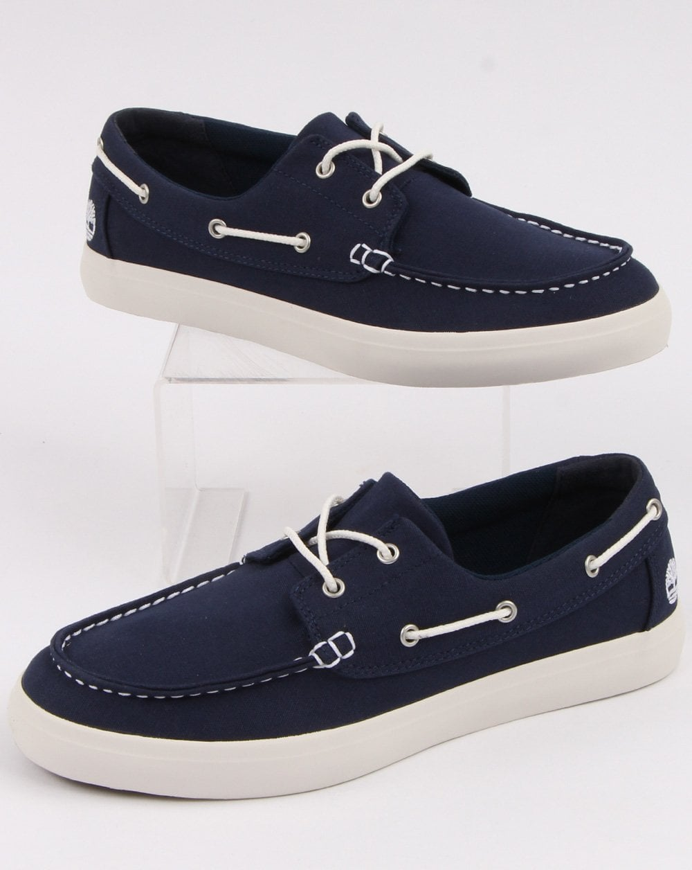 100% genuine high fashion new lifestyle Timberland Union Wharf 2 Eye Boat Shoe Navy
