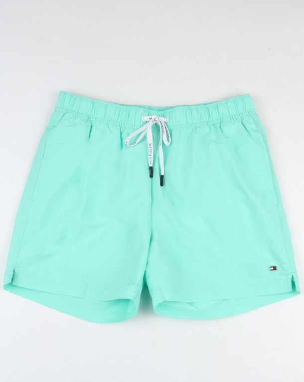 Tommy Hilfiger Basic Swim Short Aruba Blue