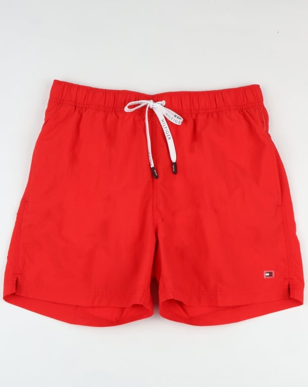 Tommy Hilfiger Basic Swim Short Flame Red