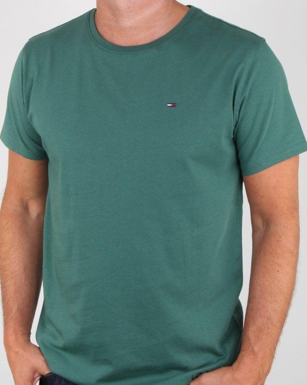 Green Tommy Hilfiger T shirt