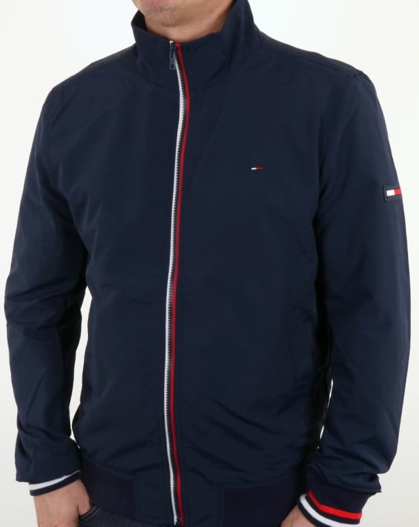 Tommy Hilfiger Casual Bomber Jacket Navy