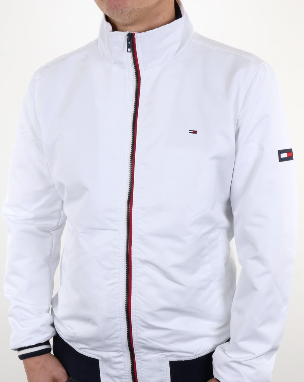 0745f9669 Tommy Hilfiger Casual Bomber Jacket White