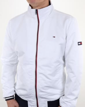 Tommy Jeans Tommy Hilfiger Casual Bomber Jacket White