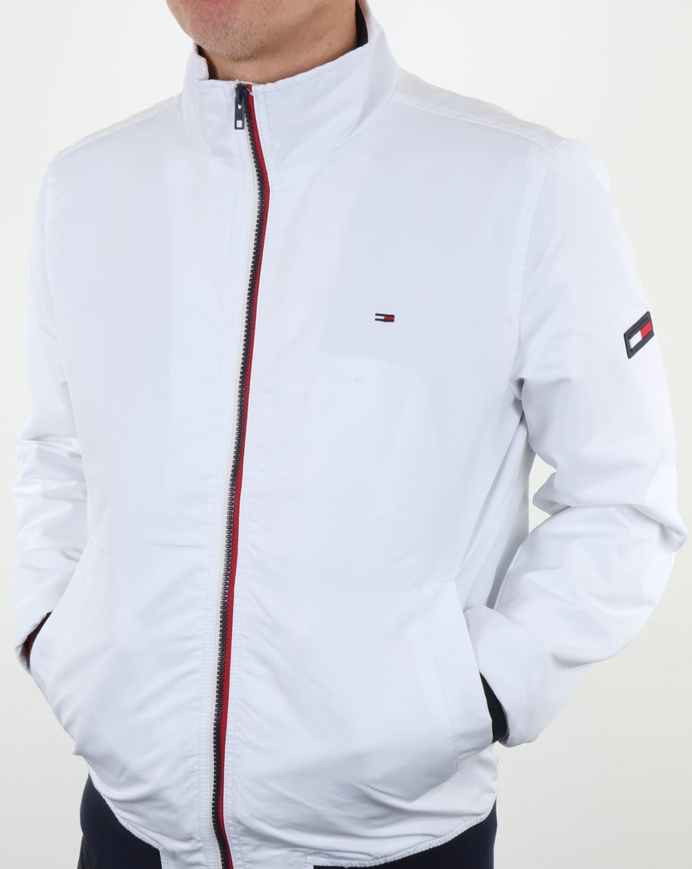 d41030ba5be Tommy Hilfiger Casual Bomber Jacket White
