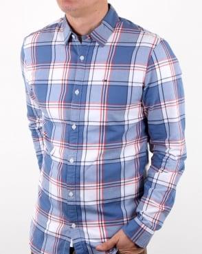 Tommy Hilfiger Jeans Tommy Hilfiger Check Shirt Orange