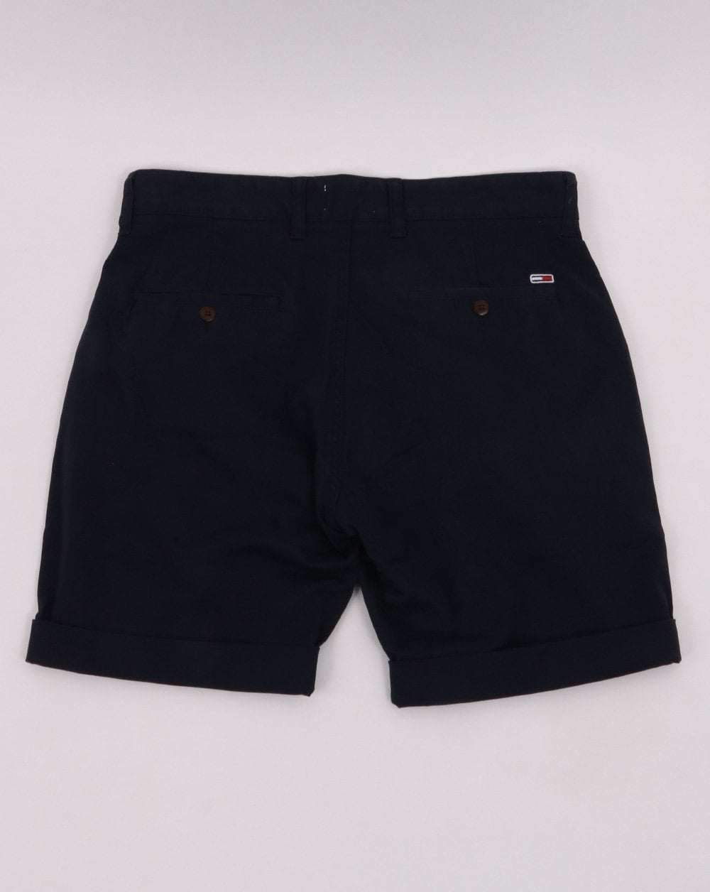 0e0641a97d Tommy Hilfiger Chino Shorts in Navy | 80s Casual Classics