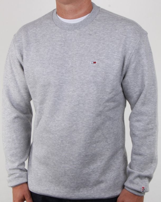Mens Green Crew Neck Sweater
