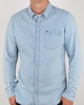 Tommy Jeans Tommy Hilfiger Classic Denim Shirt Blue