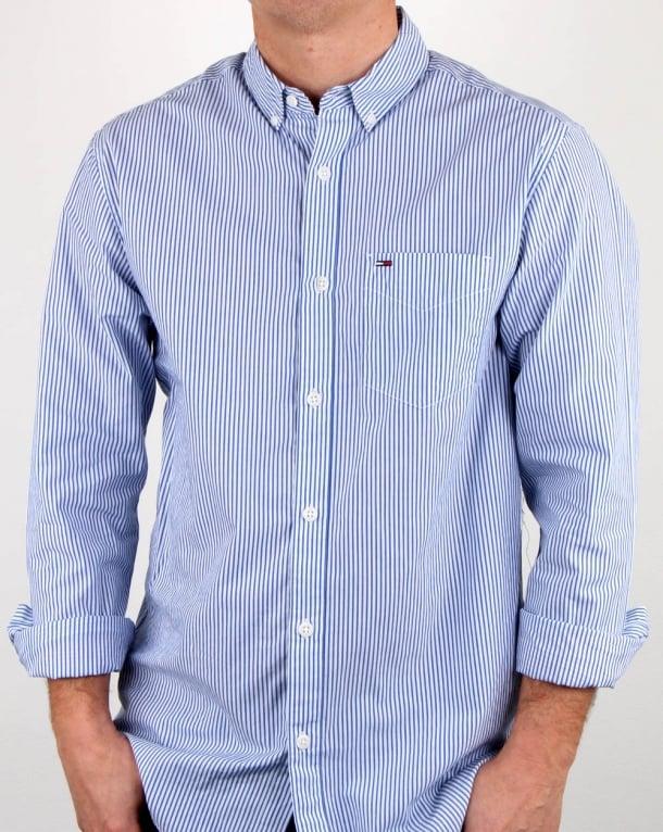 Tommy Hilfiger Classic Stripe Shirt WhiteBlue