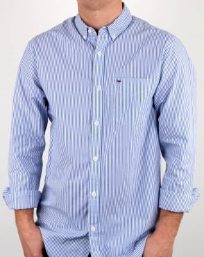 Tommy Jeans Tommy Hilfiger Classic Stripe Shirt WhiteBlue