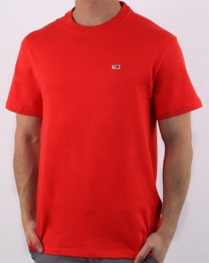 Tommy Hilfiger Classic Tee Flame Scarlet