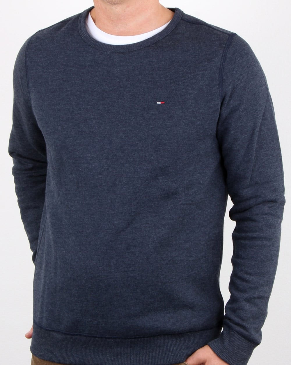 2e5e8a848 Tommy Hilfiger Jeans Tommy Hilfiger Cotton Fleece Sweatshirt Navy