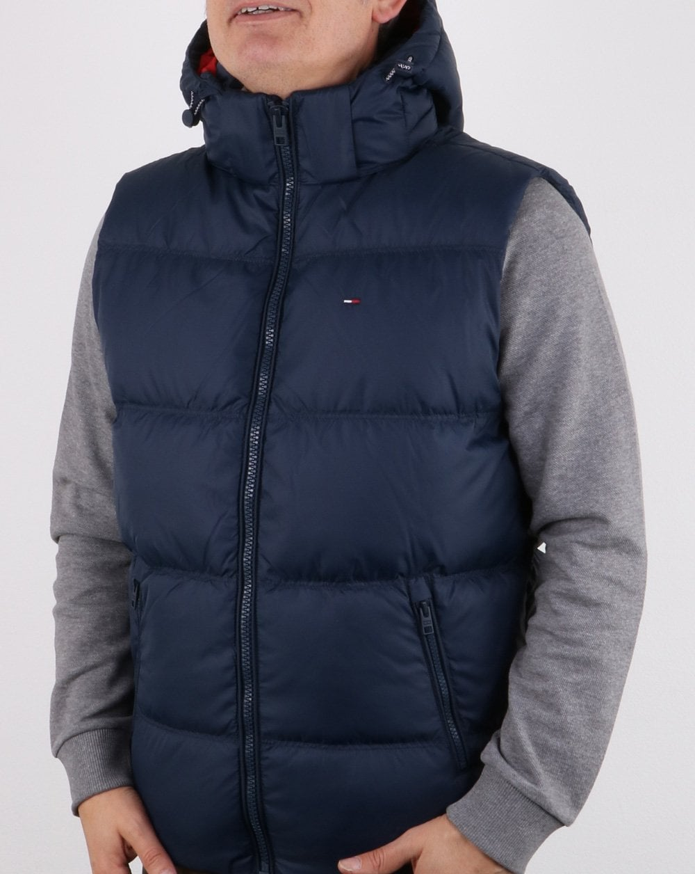 0b9d4821 Tommy Hilfiger Down Gilet Navy,Mens, Coat, Jacket, Winter, Warm