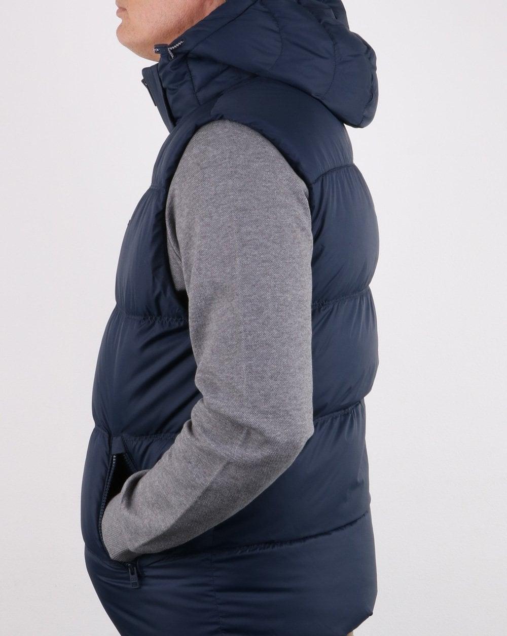 Tommy Hilfiger Down Gilet Navy Mens Coat Jacket Winter