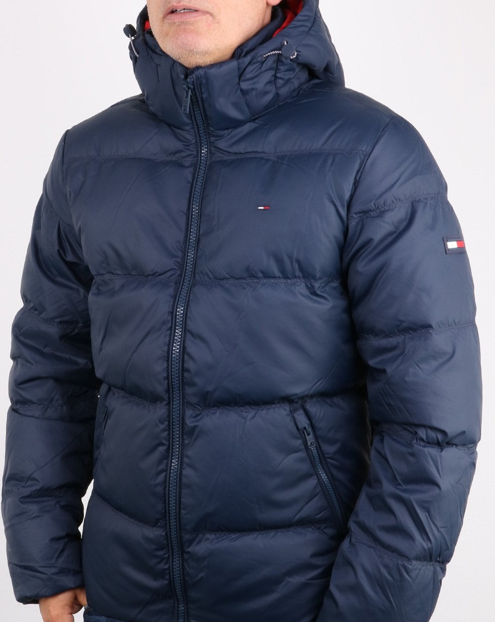 2520b70d37 Tommy Hilfiger Down Jacket Navy