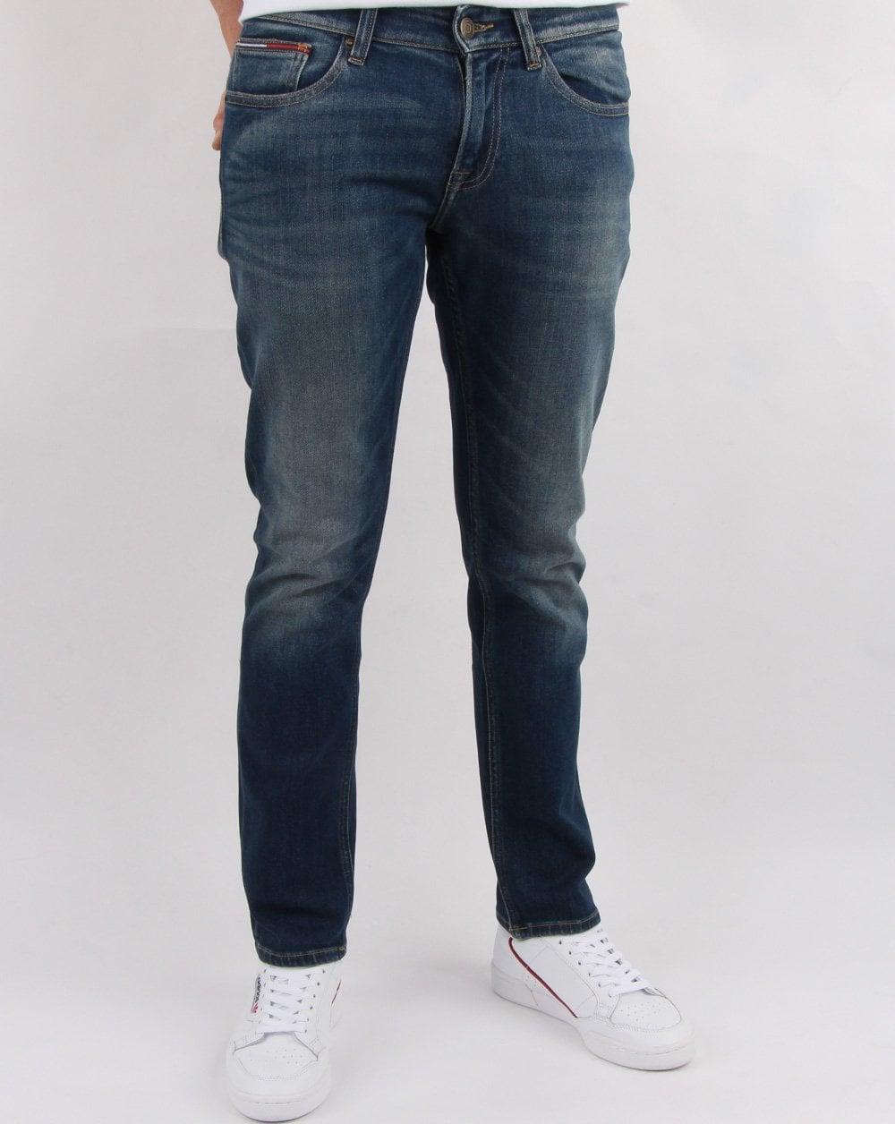 feinste Auswahl f4684 54f8c Tommy Hilfiger Dynamic Stretch Slim Scanton Jeans Blake Dark Blue
