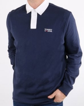 Tommy Hilfiger Jeans Tommy Hilfiger Essential Rugby Shirt Navy