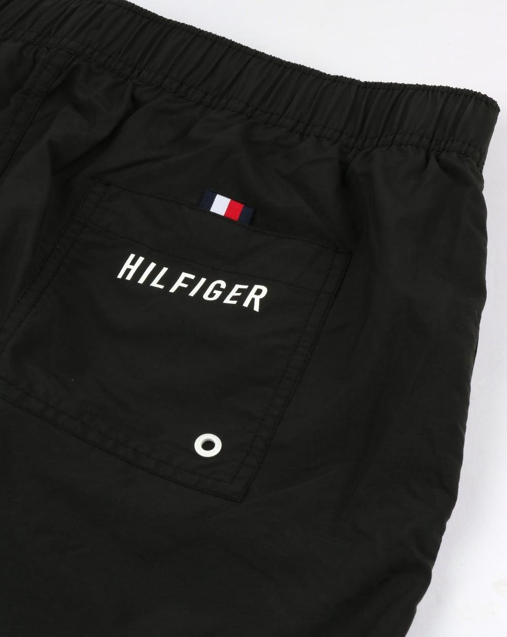 67592dc7 Tommy Hilfiger Flag Leg Swim Shorts Black,beach,swimmers,mens