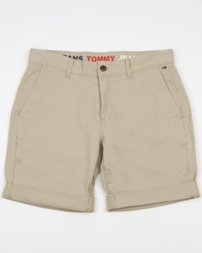 Tommy Jeans Tommy Hilfiger Freddy Shorts Light Stone