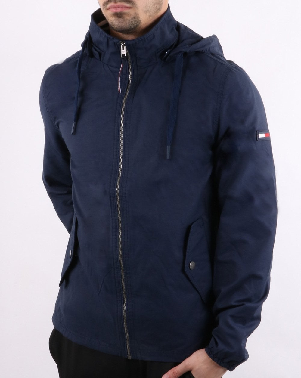 5b2d5c3f4a Tommy Hilfiger Jeans Tommy Hilfiger Hooded Jacket Navy