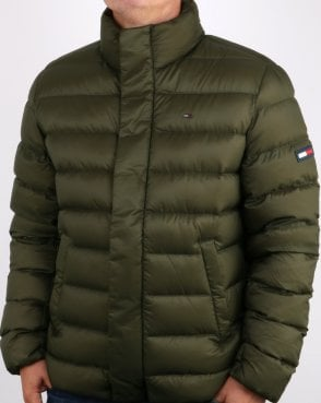 Tommy Hilfiger Jeans Tommy Hilfiger Light Down Jacket Forest Night