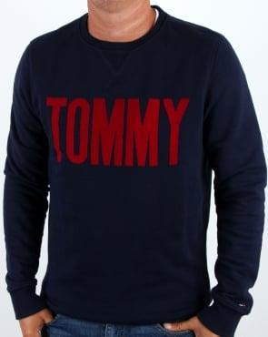 Tommy Hilfiger Jeans Tommy Hilfiger Logo Sweatshirt Navy