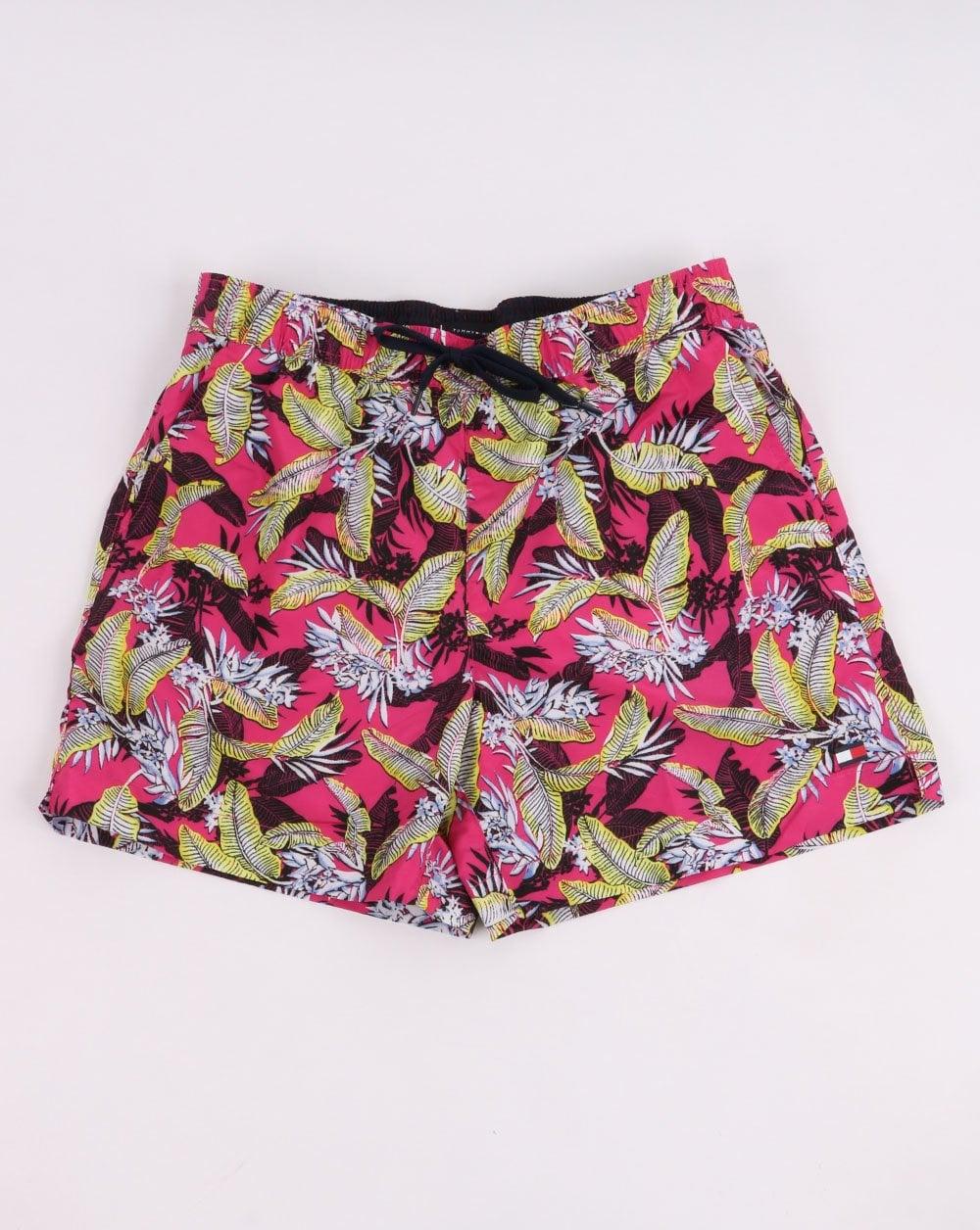 2cdf2ad535 Tommy Hilfiger Jeans Tommy Hilfiger Medium Drawstring Shorts Tropic Leaf