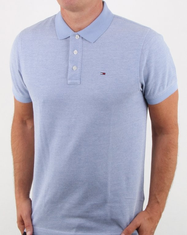 Tommy Hilfiger Oxford Polo Blue