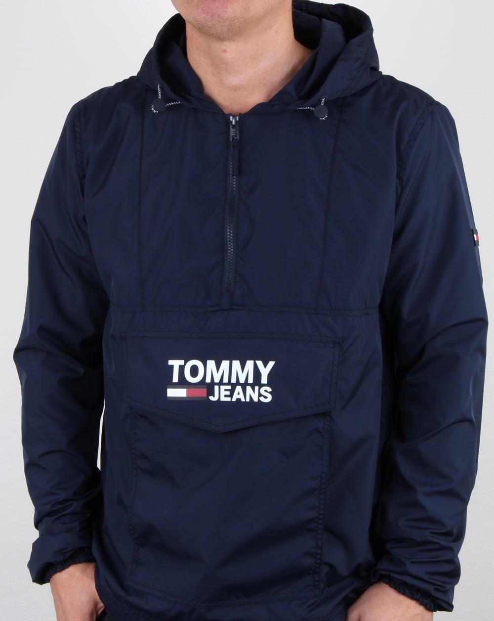 30493d20a7 Tommy Hilfiger Jeans Tommy Hilfiger Pop Over Anorak Navy