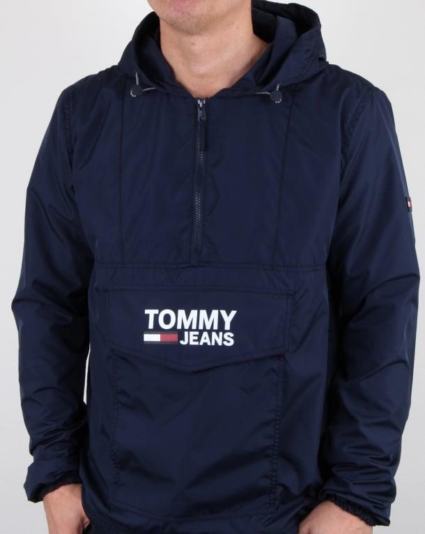Tommy Hilfiger Pop Over Anorak Navy