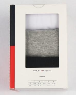 Tommy Hilfiger Jeans Tommy Hilfiger Premium Essentials 3 Pack T Shirts Black/White/Grey