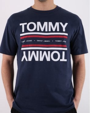 Tommy Hilfiger Reflection T-shirt Navy