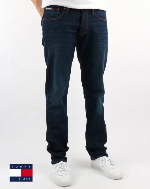 Tommy Hilfiger Ryan Straight Fit Jeans Dark Comfort