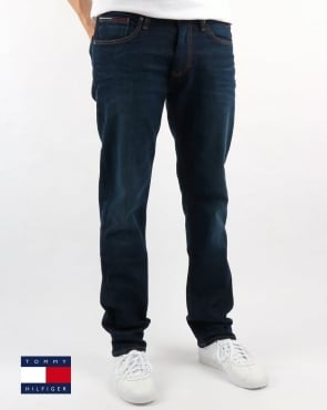 Tommy Hilfiger Ryan Straight Fit Jeans Dark Comfort