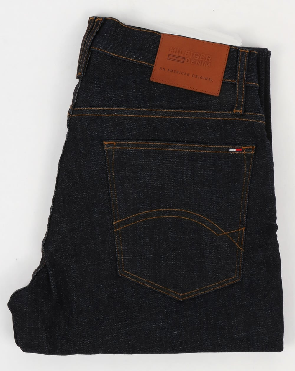 591e0e11 Tommy Hilfiger Ryan Straight Fit Jeans Denim | 80s casual classics